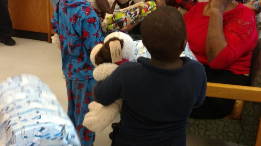 Kingdom kids provided gifts for 1288 children this past holiday season